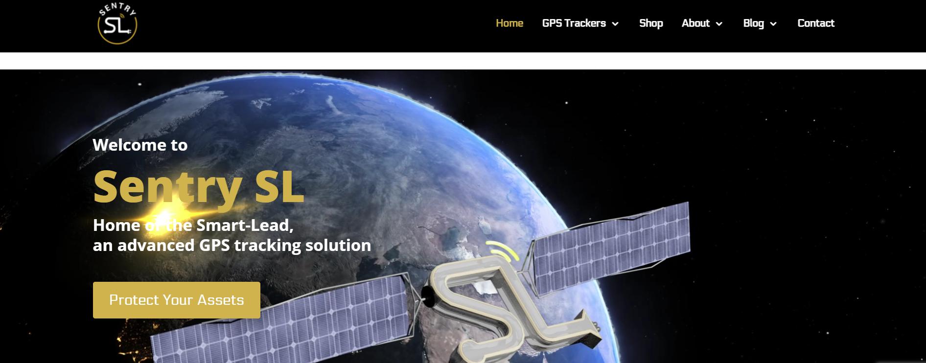 Sentry SL Homepage
